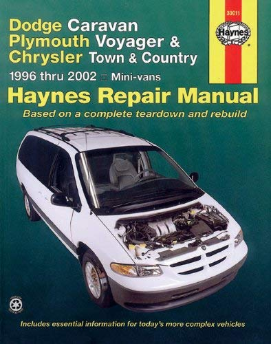Haynes Dodge Caravan, Plymouth Voyager, Chrysler Town & Country Automotive Repair Manual 9781563924699