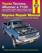 Haynes Toyota Tacoma 4 Runner & T100 Automotive Repair Manual 6979002