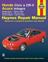 Honda Civic & Cr-V - Acura Integra: Honda Civic - 1996 Thru 2000 - Honda Cr-V - 1997-2001 - Acura Integra 1994 Thru 2000 6978963