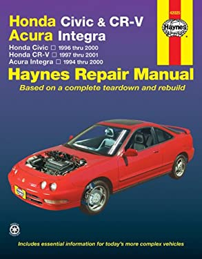Honda Civic & Cr-V - Acura Integra: Honda Civic - 1996 Thru 2000 - Honda Cr-V - 1997-2001 - Acura Integra 1994 Thru 2000
