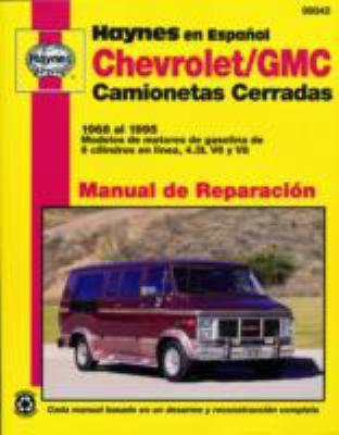Chevrolet/GMC Camionetas Cerradas 1968 Al 1995 9781563921773