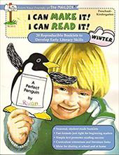 I Can Make It! I Can Read It! Mailbox Preschool Kindergarten Winter ; 20 Reproductible Booklets to D 19464315