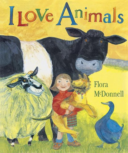I Love Animals Big Book 9781564026620