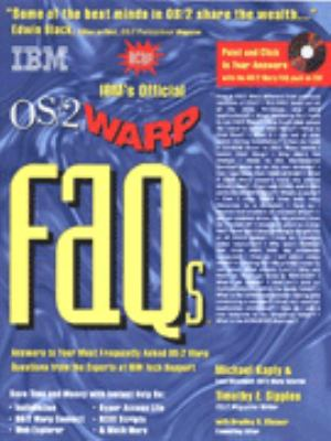 IBM's Official OS/2 Warp FAQs 9781568844725