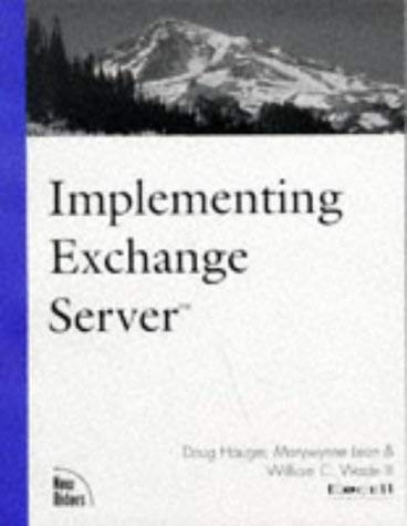 Implementing Exchange Server 9781562059316