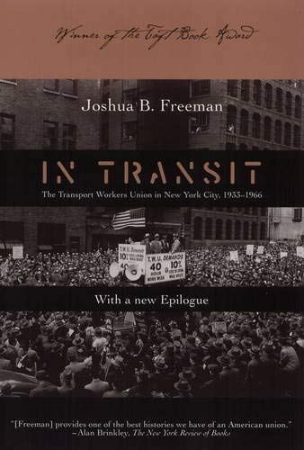 In Transit: Transport Workers Union in NYC 1933-66 9781566399227