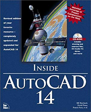 Inside AutoCAD 14 [With Includes Exercise Files, 3D Studio Viz Demo...] 9781562057558