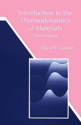 Introduction to the Thermodynamics of Materials 9781560324324