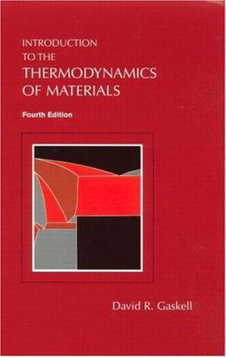 Introduction to the Thermodynamics of Materials [With CDROM] 9781560329923