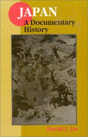 Japan: A Documentary History 9781563249068
