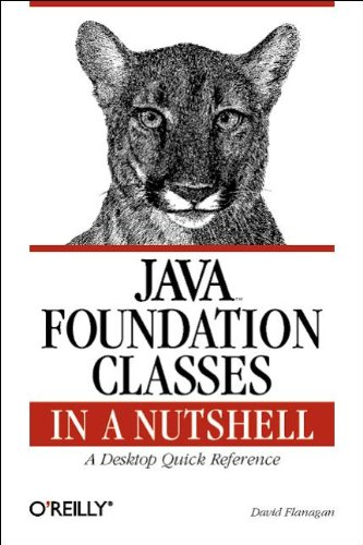 Java Foundation Classes in a Nutshell 9781565924888