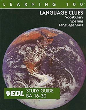 Language Clues: BA 16-30: Vocabulary, Spelling, Language Skills 9781562606862