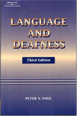 Language and Deafness 9781565939998