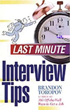 Last Minute Interview Tips 9781564142405