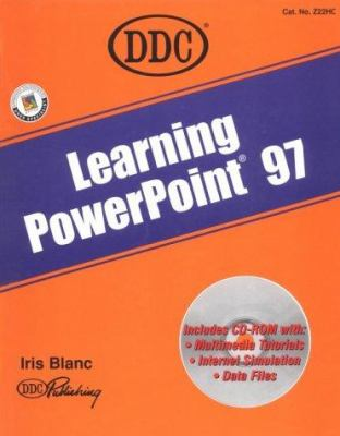 Learning PowerPoint 97 [With Contains Multimedia Tutorials, Data Files...] 9781562434663