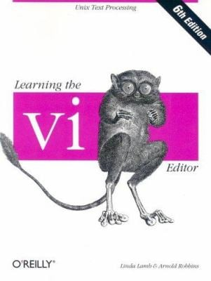 Learning the VI Editor 9781565924260