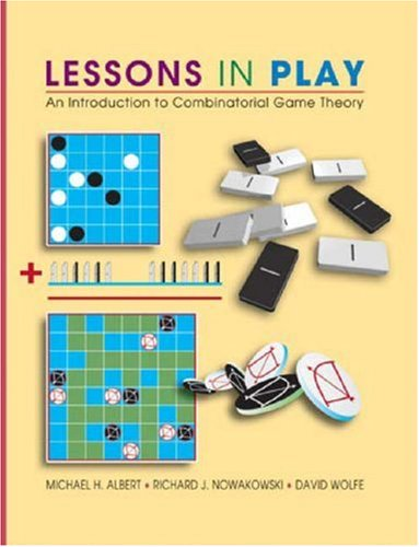 Lessons in Play: An Introduction to Combinatorial Game Theory 9781568812779