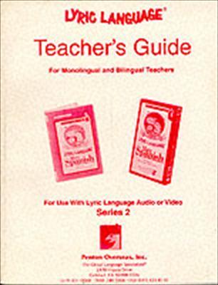 Lyric Language Series 2 Teachers Guides [With CD]
