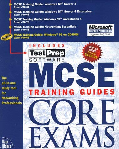 MCSE Core Exams: Training Guides 9781562058210