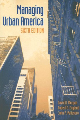 Managing Urban America 9781568029306