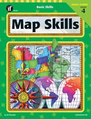 Map Skills, Grade 4 9781568226392