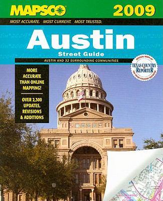 Mapsco Austin Street Guide 9781569664650