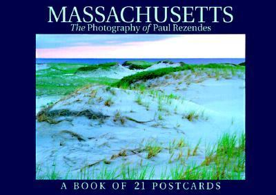 Massachusetts Postcard Book 9781563138409