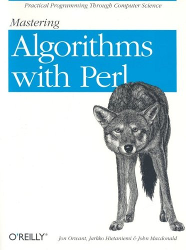 Mastering Algorithms with Perl 9781565923980