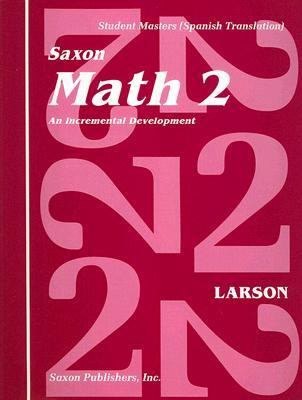 Matematica 2: Desarrollo Incremental: Cuaderno de Trabajo Para el Estudiante 9781565770454