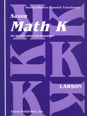 Matematica K: Desarollo Incremental: Patrones Opcionales de Caligrafia de los Numeros [With Book of Keyword Translations] 9781565770478