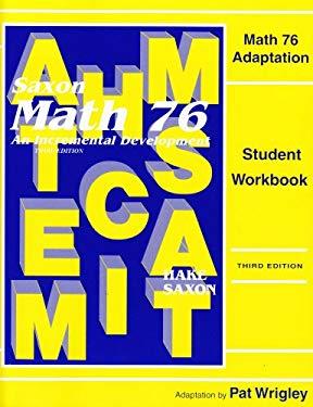 Math 76 Adaptation 9781565772991