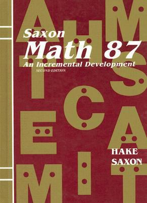 Math 87: An Incremental Development 9781565771888