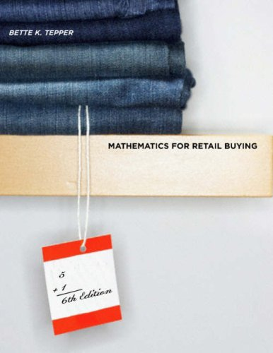 Mathematics for Retail Buying [With CDROM]