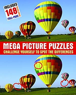 Mega Picture Puzzles: Challenge Yourself to Spot the Differences 9781569756454