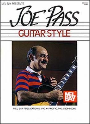 Mel Bay Presents Joe Pass Guitar Style 9781562220051