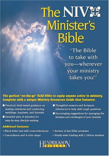 Minister's Bible-NIV: The Bible to Take with You--Wherever You Go! 9781565636460