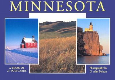Minnesota Postcard Book