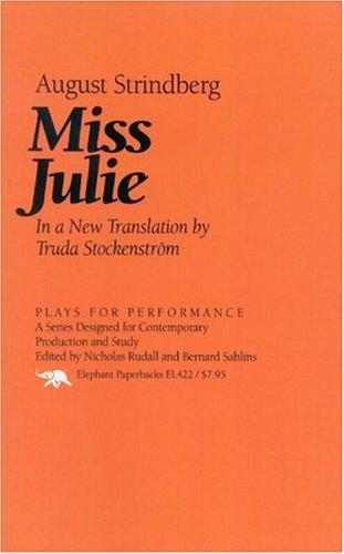 Miss Julie 9781566631099