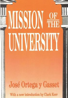 Mission of the University (Ppr) 9781560005605