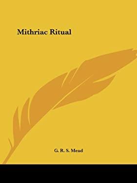 Mithriac Ritual 9781564591173