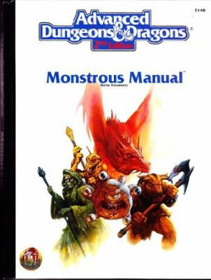 Monstrous Manual 9781560766193