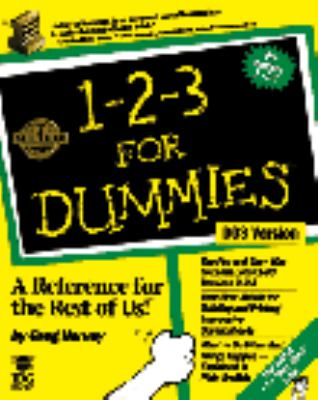More 1-2-3 for DOS for Dummies 9781568842240