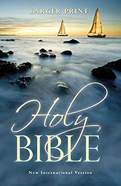 Larger Print Bible-NIV