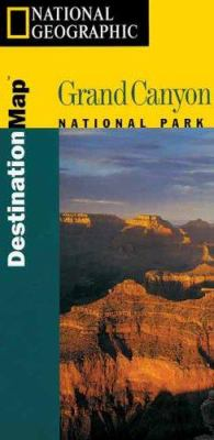 National Geographic - Destination Map-Grand Canyon - Destination Maps [With Guidebook] 9781566950602