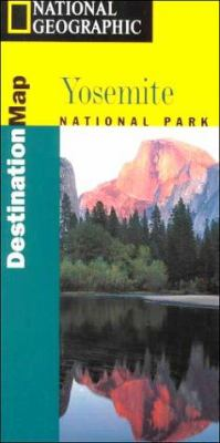 National Geographic - Destination Map-Yosemite - Destination Maps [With Guidebook] 9781566950596