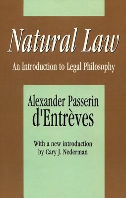 Natural Law: An Introduction to Legal Philosophy 9781560006732