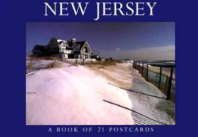 New Jersey Postcard Book 9781563138454