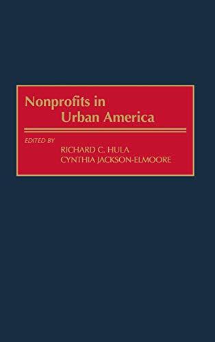 Nonprofits in Urban America 9781567203769