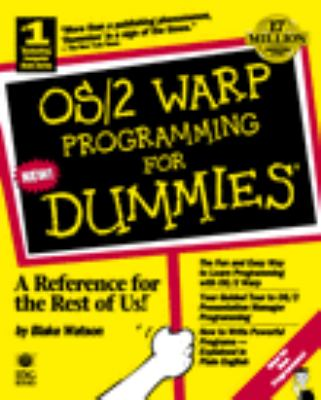 OS/2 Warp Programming for Dummies 9781568843377