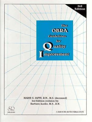 Obra Guidelines for Quality Improvement 9781569300473